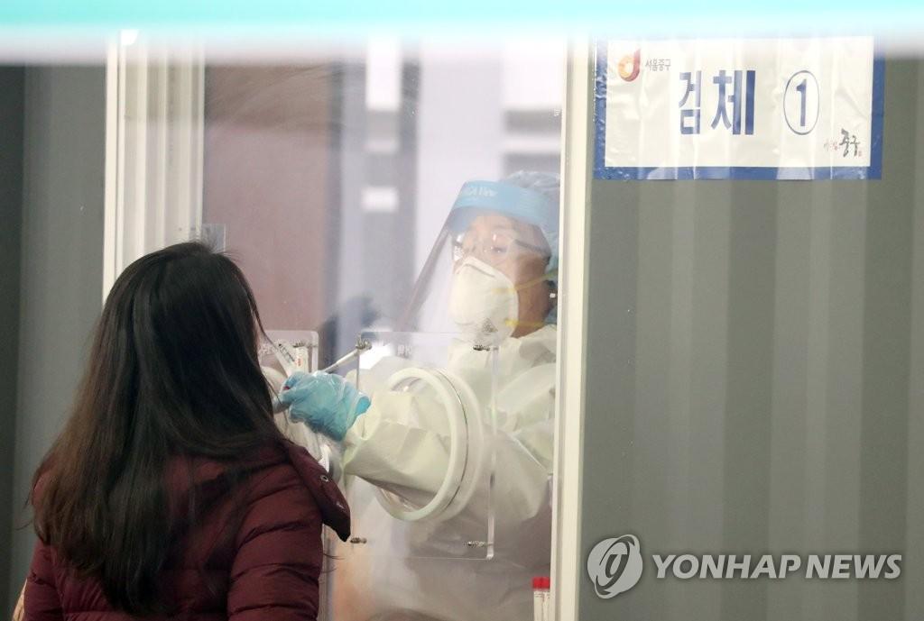 簡訊:南韓新增384例新冠確診病例 累計102141例