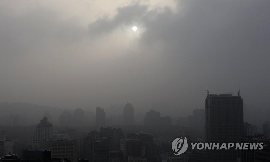 詳訊:首爾市發佈PM10和PM2.5預警