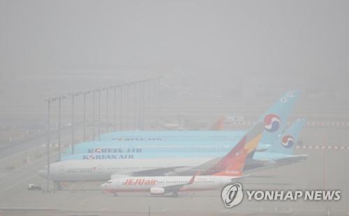 今年最強沙塵襲擊南韓 空氣品質下月轉好