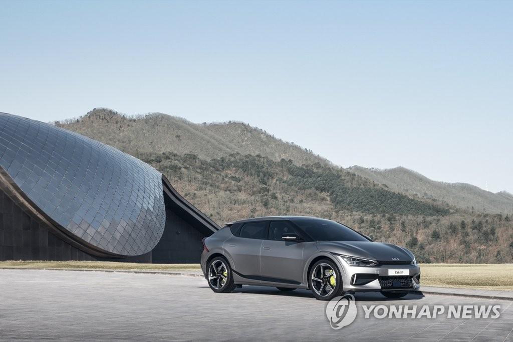 起亞電動汽車EV6在歐洲預售量超7300輛