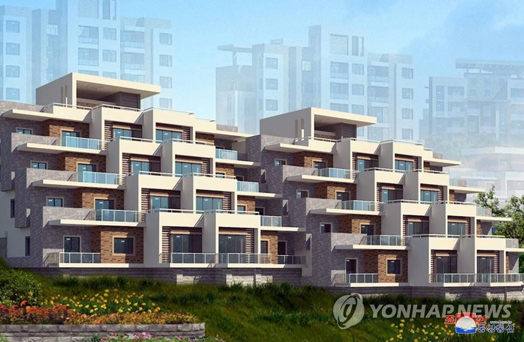 """朝鮮平壤高級住宅區行政區定名""""瓊樓洞"""""""
