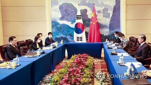 詳訊:韓中各公佈介紹外長會成果的新聞稿