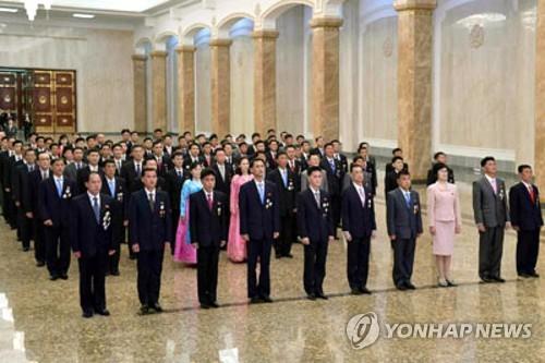 朝媒:勞動黨基層書記參謁太陽宮