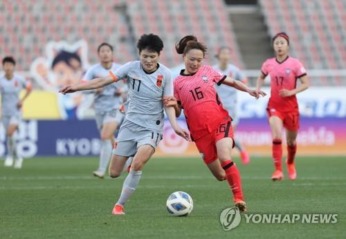南韓女足今赴華爭奪東京奧運參賽權