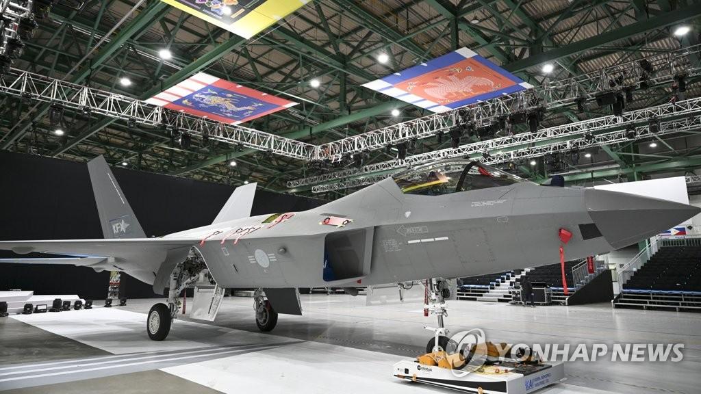 國產戰機KF-21試製品出庫