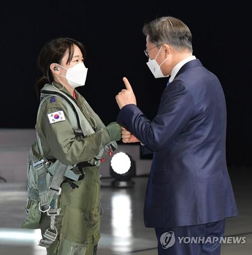 文在寅:國產新型戰機問世讓守護領空夢成真