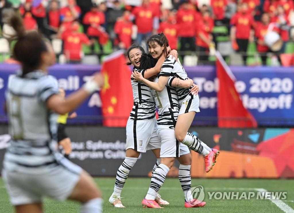 南韓隊共慶進球