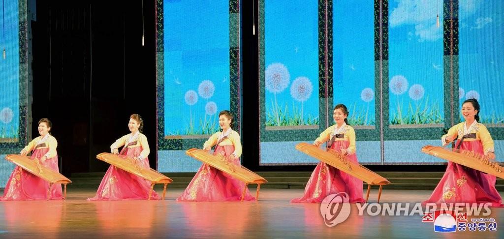 """朝鮮慶祝""""太陽節"""""""