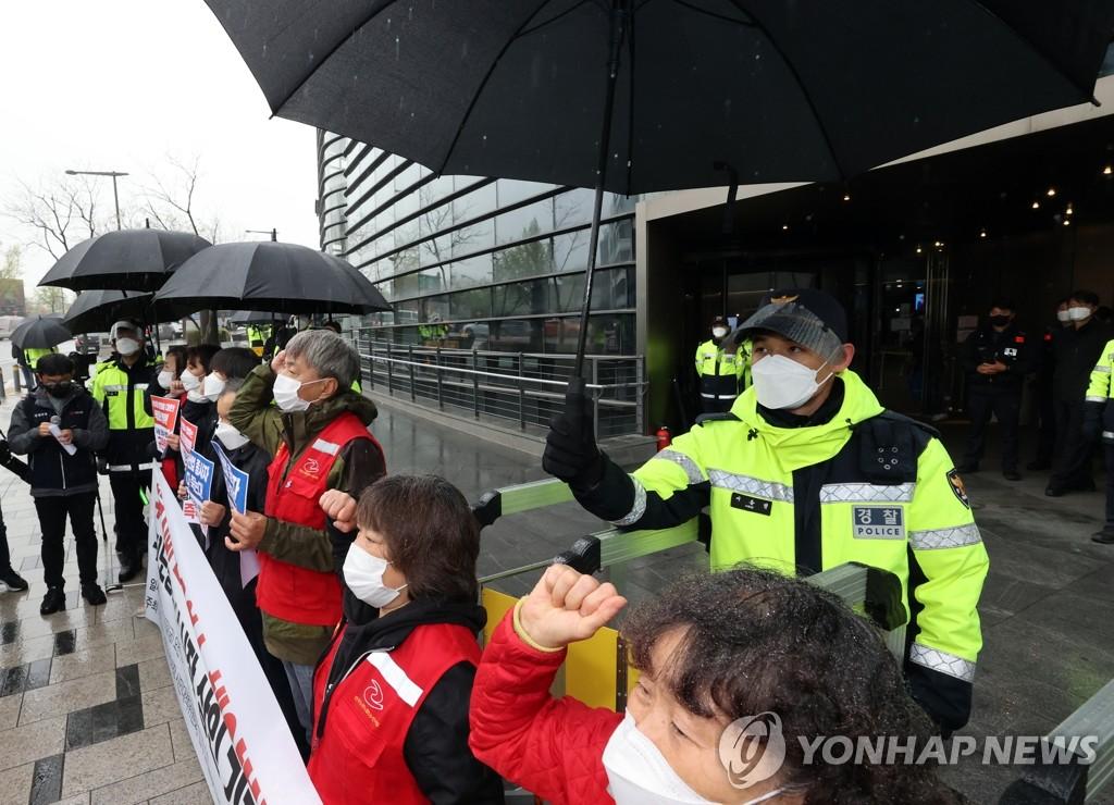 抗議日核廢水排海