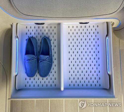 LG將推電子鞋櫥