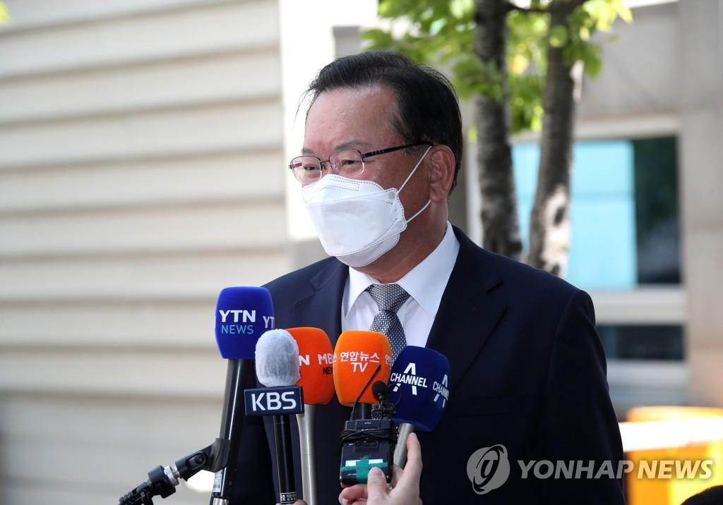 韓總理被提名人答記者問