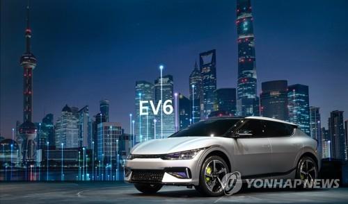 起亞純電動車EV6亮相上海車展