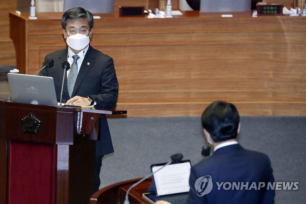 韓防長:有必要再上調士兵工資