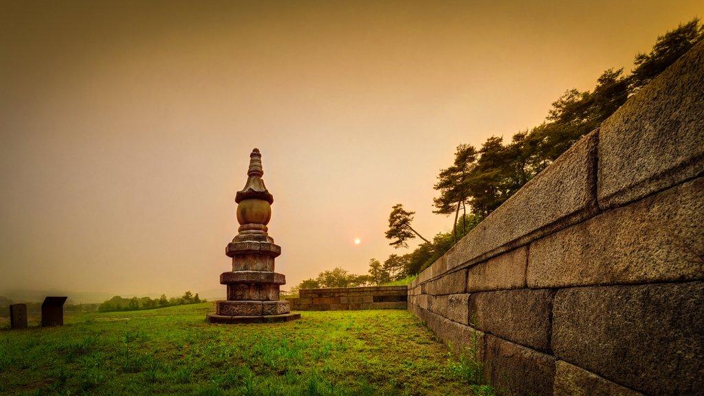 韓揚州檜岩寺址舍利塔