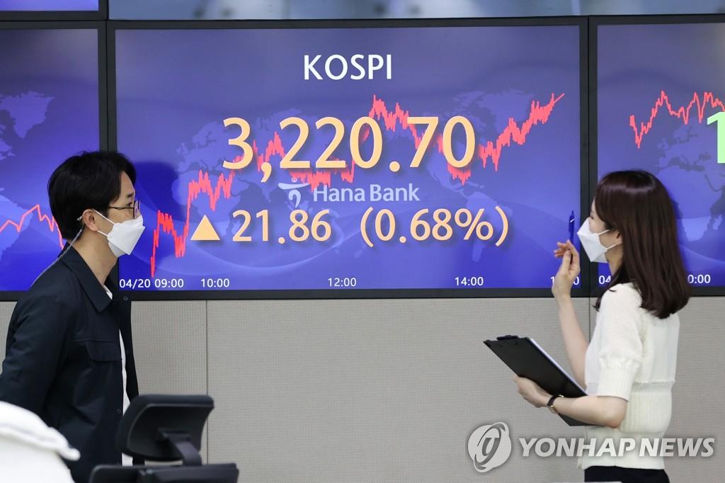 韓KOSPI收盤再創新高