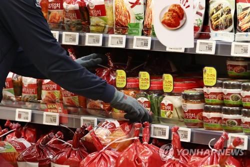 韓6月自華泡菜進口額較近三年同月均值減少13%