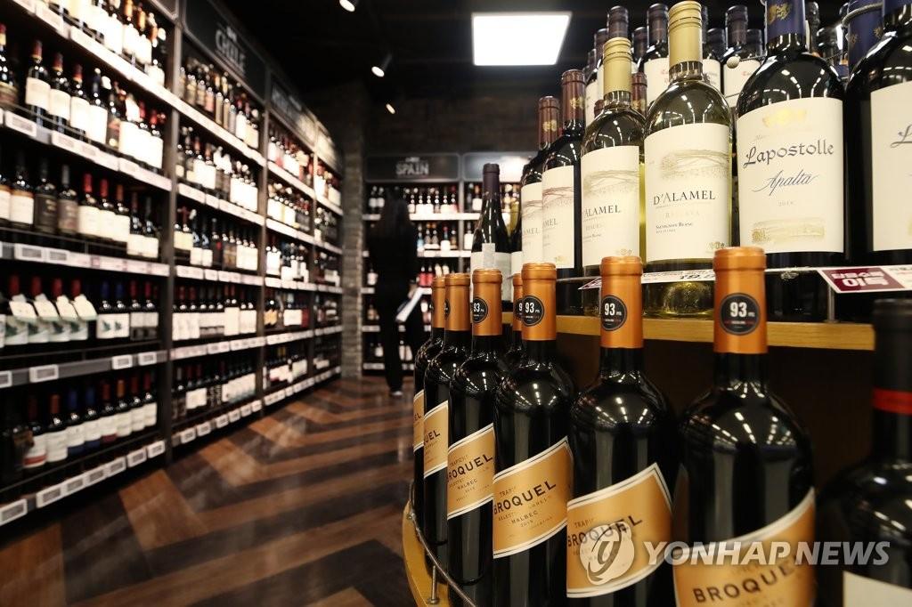 統計:韓今上半年葡萄酒進口額同比增110%