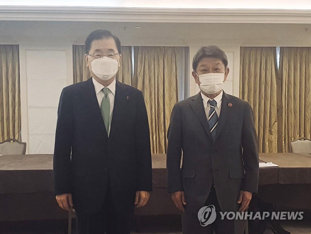 韓外交部:韓日商定共促兩國關係發展