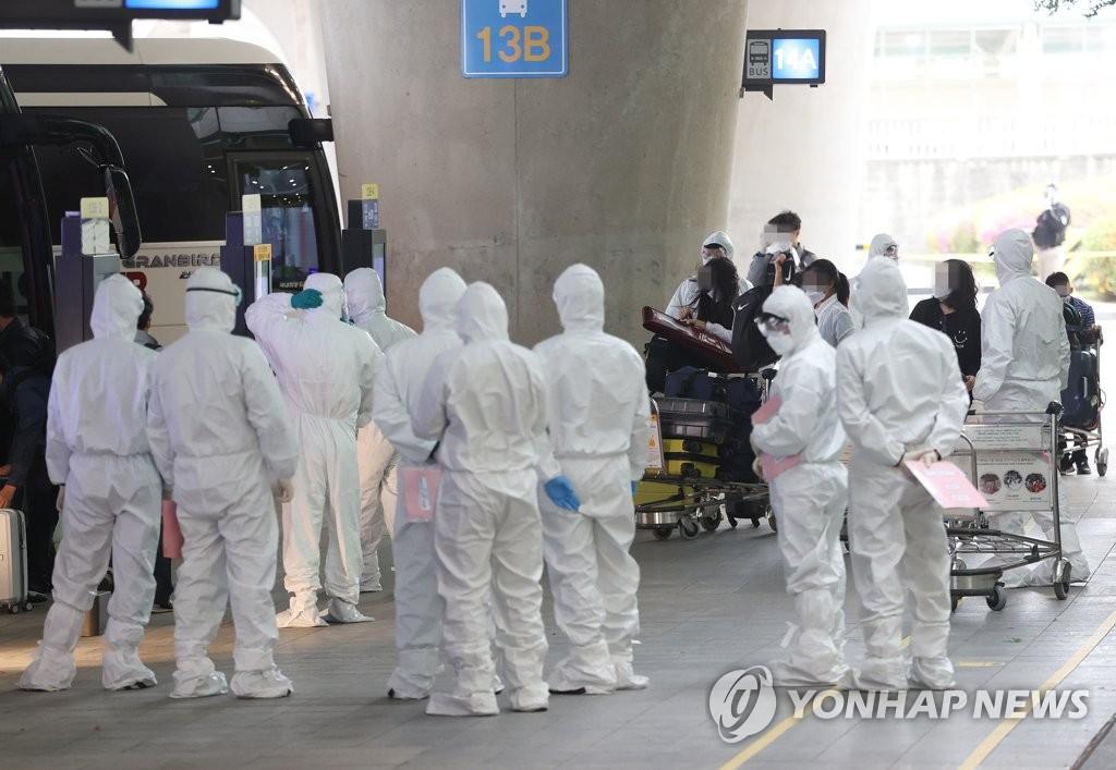 376名自印入韓人員中有11人確診新冠