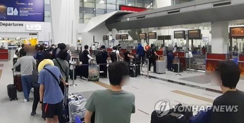 韓企工作人員撤離印度