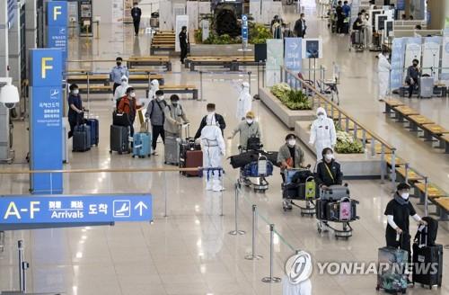 自印撤離韓企員工抵韓
