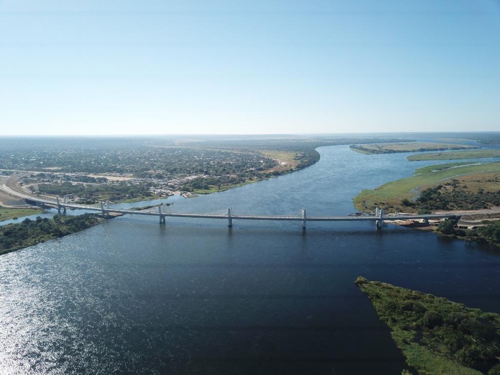 大宇建設承建的非洲南部大橋竣工