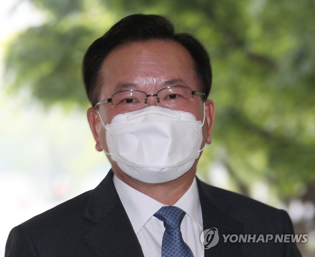 資料圖片:新任國務總理金富謙 韓聯社