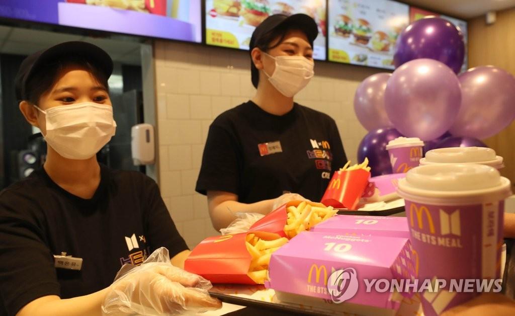 麥當勞BTS套餐推動麥樂雞銷量大增283%