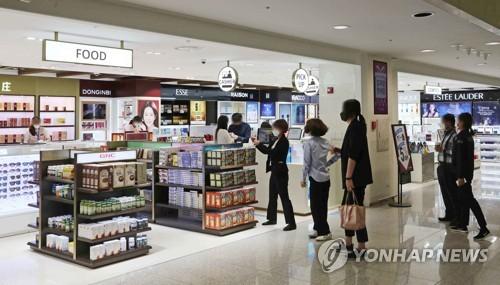 南韓免稅店4月銷售增51.6%創近三年新高