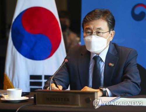 韓福祉部長權德喆出席G7衛生部長會議