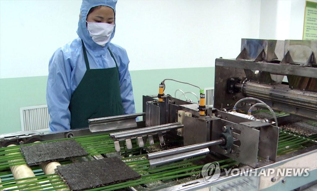 平壤紫菜加工廠