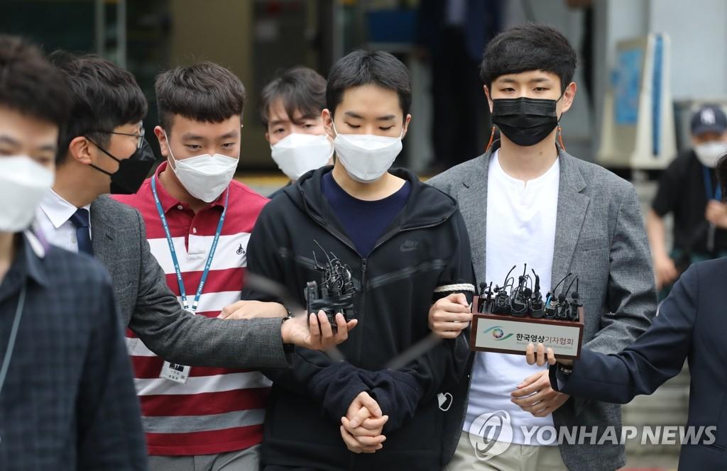 韓非法散佈祼聊視頻案嫌疑人被送檢