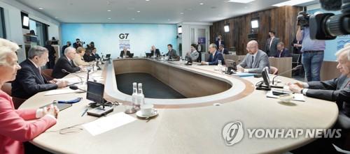 韓政府:部分參與G7聲明不針對特定國家