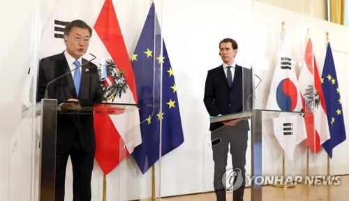 詳訊:韓奧決定將兩國關係升格為戰略夥伴關係