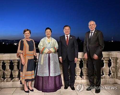 韓奧總統伉儷
