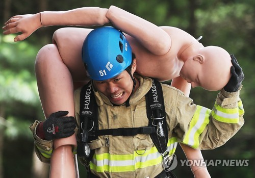 消防員大顯身手