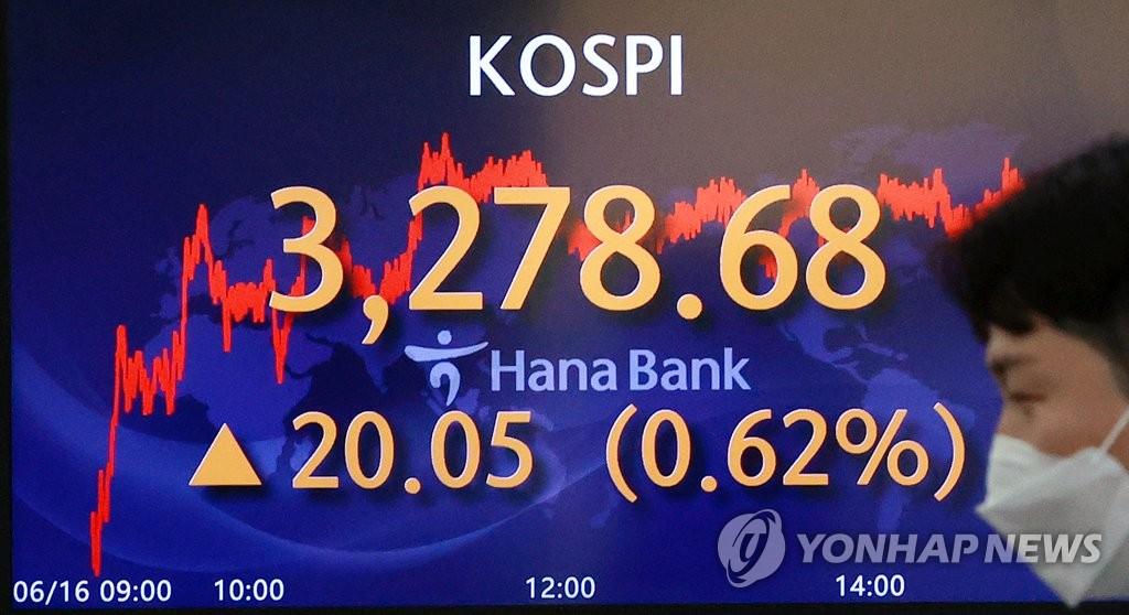 詳訊:韓綜合股指收盤價連續三天創新高
