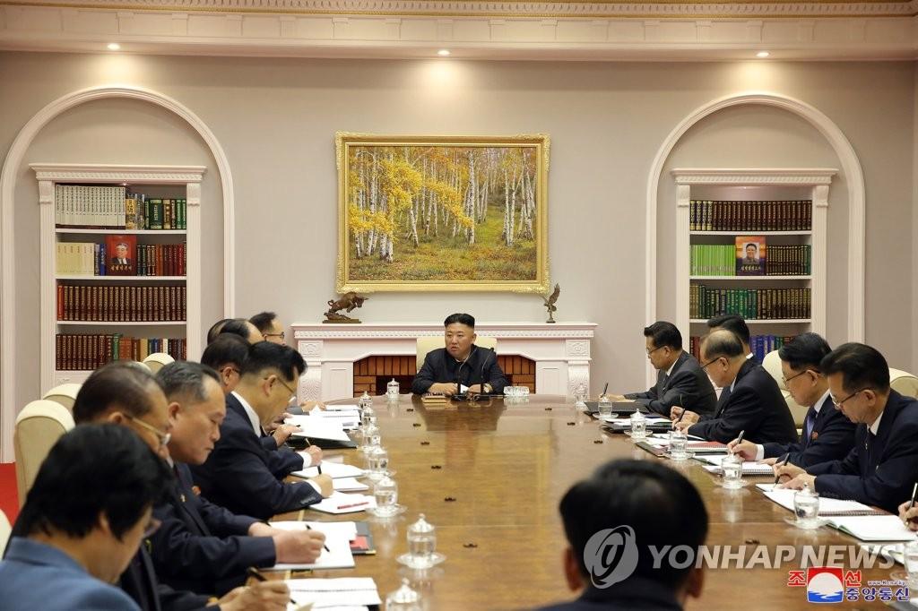 朝鮮勞動黨八屆三中全會進入第二天議程