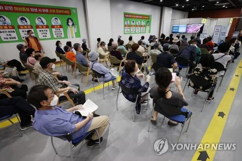 韓首劑新冠疫苗接種者突破1500萬