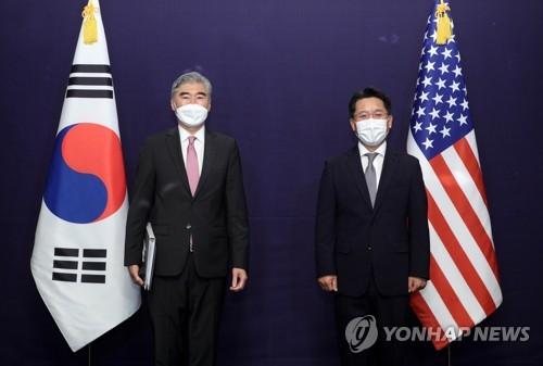 韓美對朝代表磋商