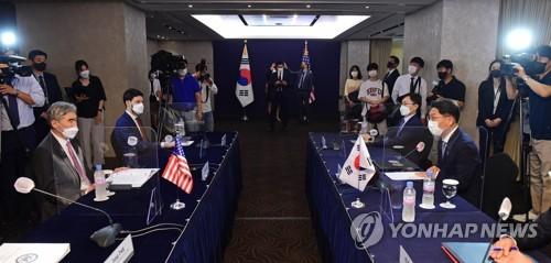 朝核問題磋商韓美代表會議