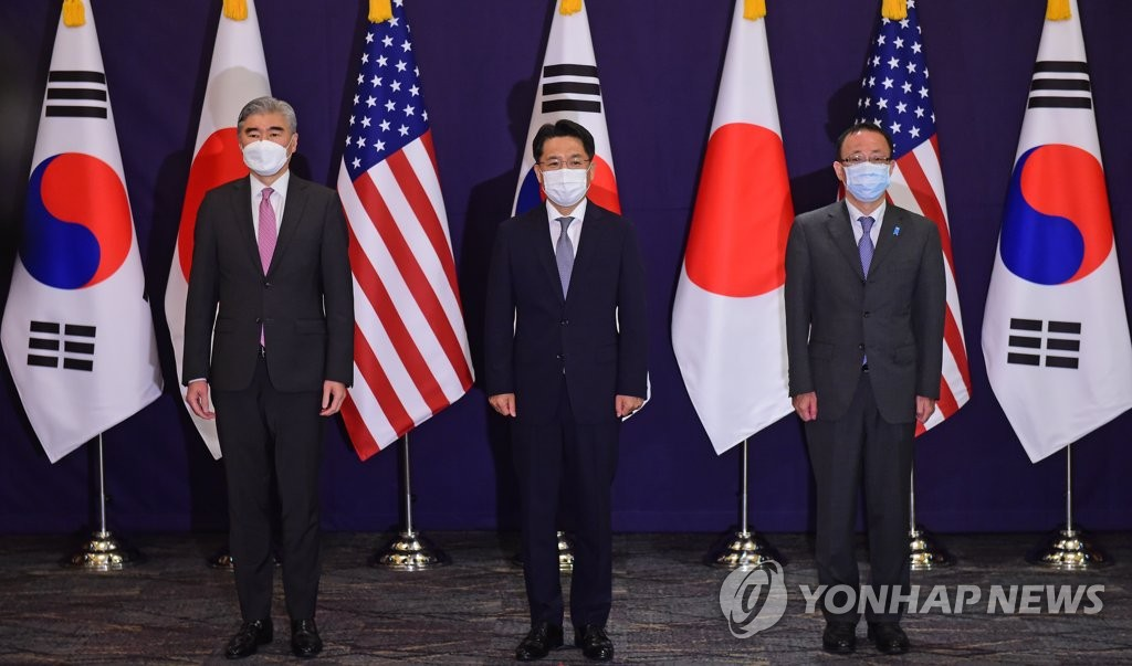 美國對朝代表星·金強調韓美日三邊合作