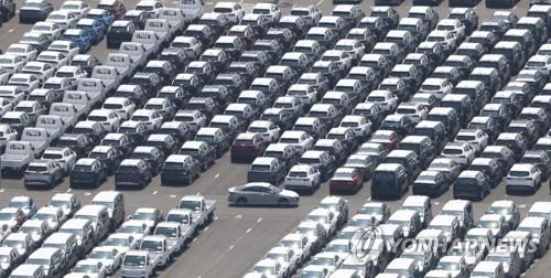 南韓第二季度乘用車出口同比增逾七成