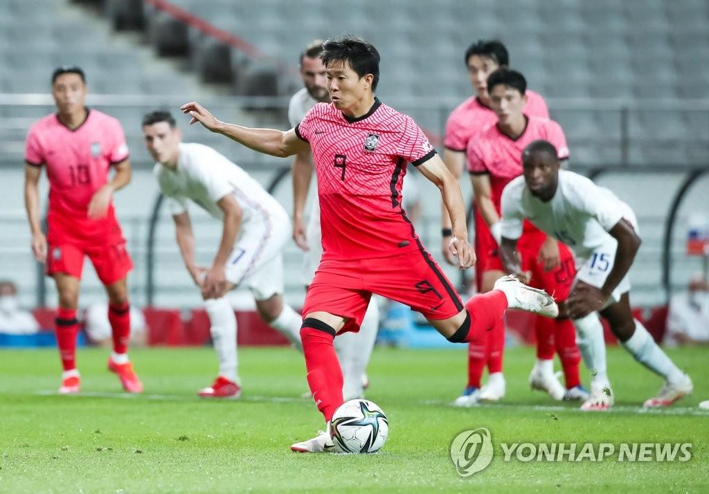 東京奧運男足熱身賽南韓1比2不敵法國