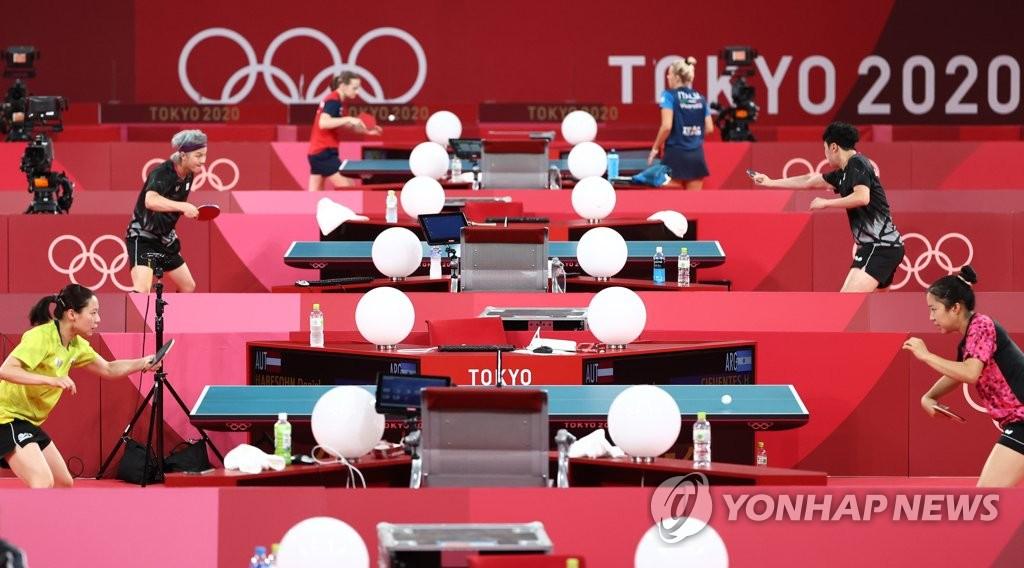 韓乒乓軍團奧運簽表出爐 準決賽或對陣中國