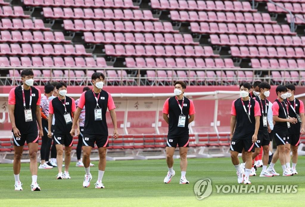 南韓男足今迎奧運首秀對陣紐西蘭隊