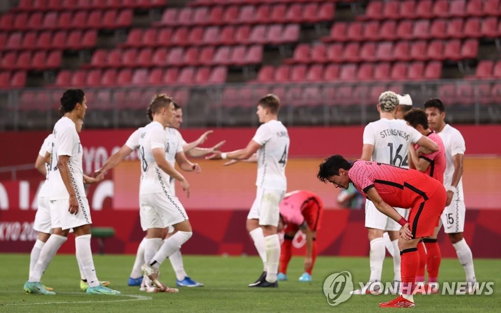韓男足國奧首戰0-1惜敗紐西蘭