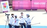 簡訊:南韓隊摘得東京奧運女子射箭團體賽金牌