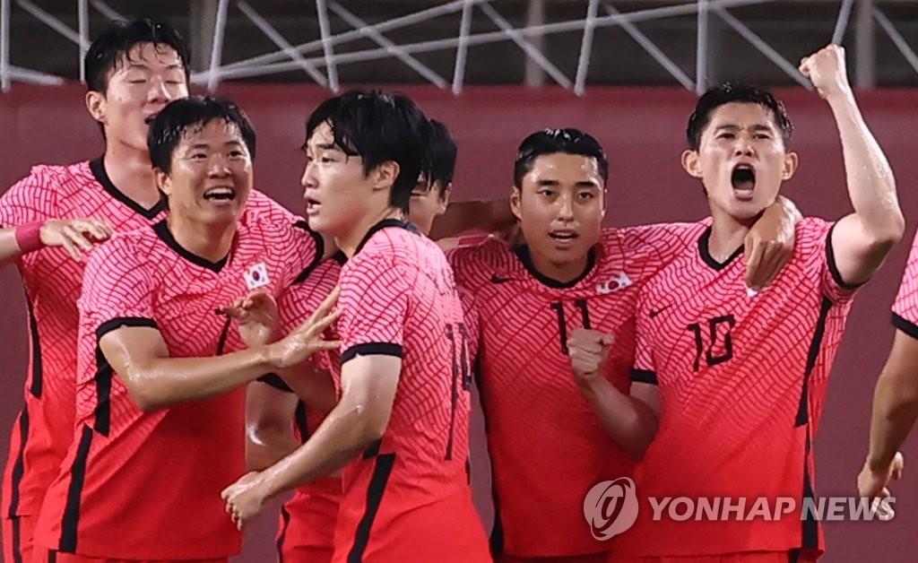 東京奧運男足第二輪南韓4-0大勝羅馬尼亞