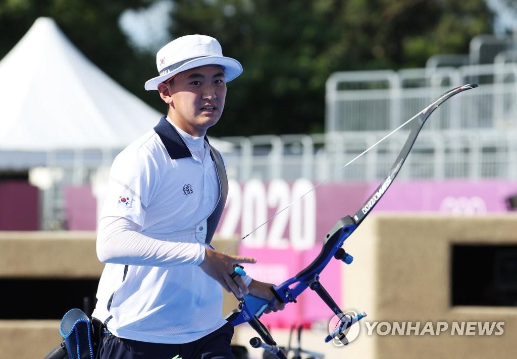 韓射箭雙冠王金濟德止步個人32強